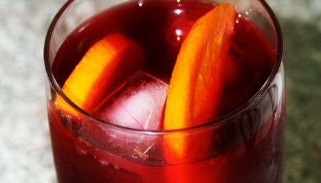 Rosemary Hibiscus Iced Tea
