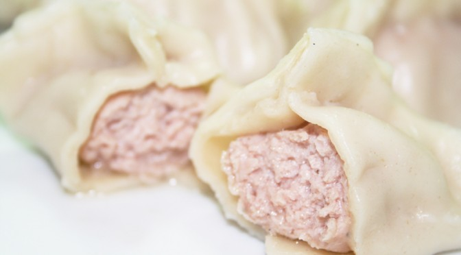 Boiled Pork Dumplings (Jiao Zi)