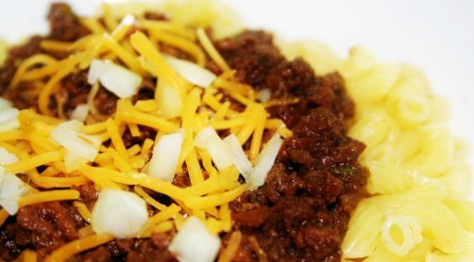 Cincinnati Style Chili Mac