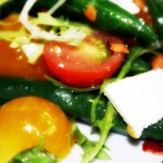 String Bean and Heirloom Tomato Salad