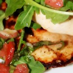 Chicken Paillard with Arugula © Spice or Die