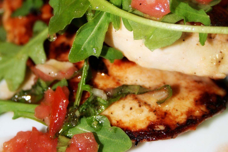 Chicken Paillard with Arugula | Spice or Die