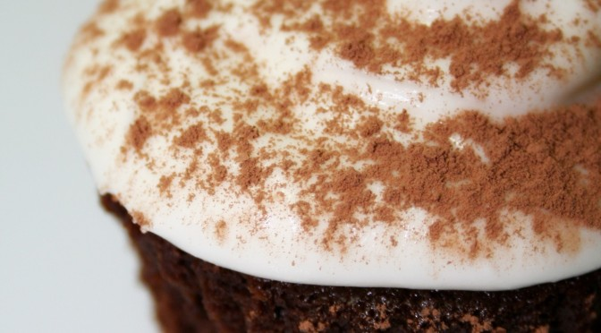 Guinness Chocolate Cupcake © Spice or Die