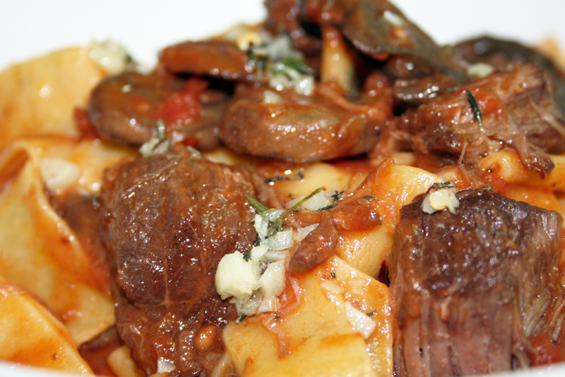 Short Rib & Porcini Mushroom Ragu Recipe — Dishmaps
