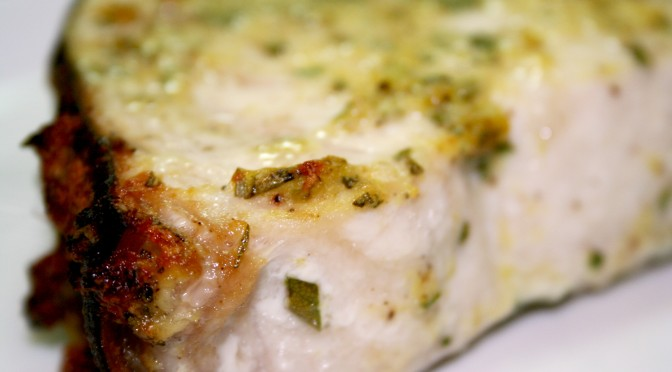 Rosemary Lemon Swordfish