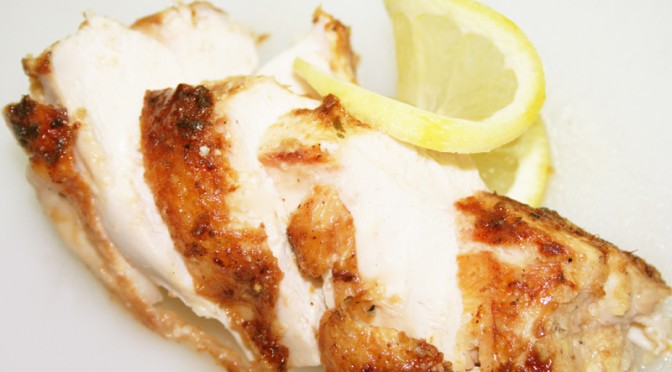 Ginger Lemon Chicken © Spice or Die