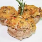 Crab Stuffed Mushrooms © Spice or Die