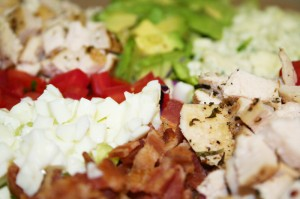 California Cobb Salad © Photo by Angela Gunder