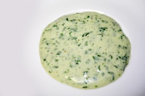Green Goddess Dressing © Photo by Angela Gunder