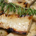Grilled Trumpet Mushrooms © Spice or Die