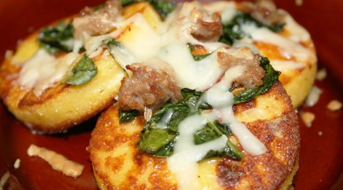 Gnocchi alla Romana with Italian Sausage, Cavolo Nero and Provolone