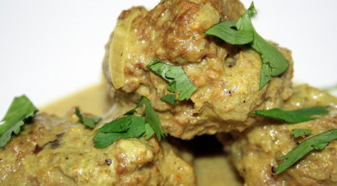 Meatballs with Coconut Curry